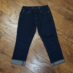 Cropped LIMITED Denim Jeans 312! Size 0